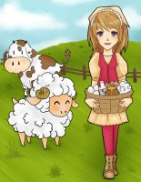 Harvest Moon - Natsume Contest Entry by MsCappuccino