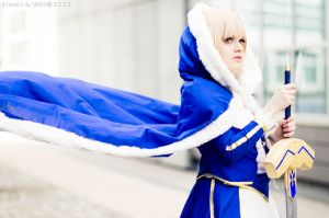 Fate - The sword of liberty by YuukiCosplayer