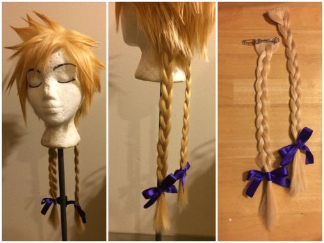 Cloud Wig from FFVII (Wallmarket version) by taiyowigs