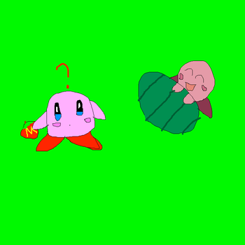 two little Kirbies by imthecutest1238