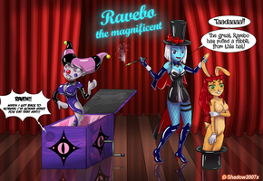 Ravebo the Magnificent by Gojiro7