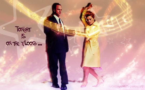 Liv and El Tonight is on the floor by KadouCreations