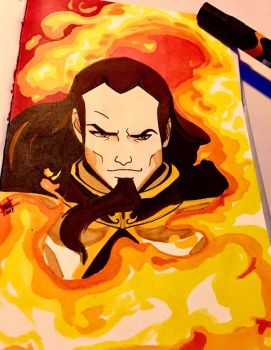 Fire Lord Ozai by TheBabyDragons