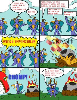 Le Spore Adventures. Page 13: Indestructible by thelakotanoid1