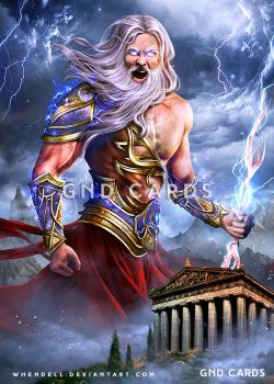 Zeus, King of Gods by Whendell