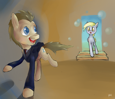 It's Called the TARDIS by WandererEclipse