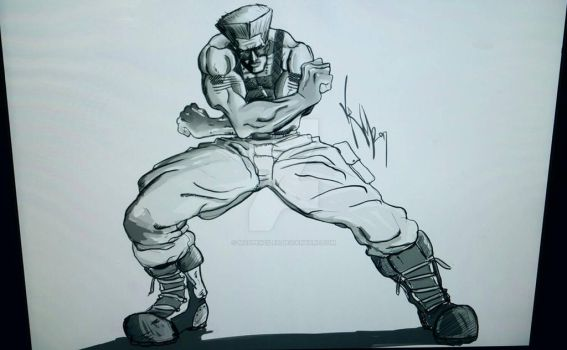 guile sketch by Madpenciler