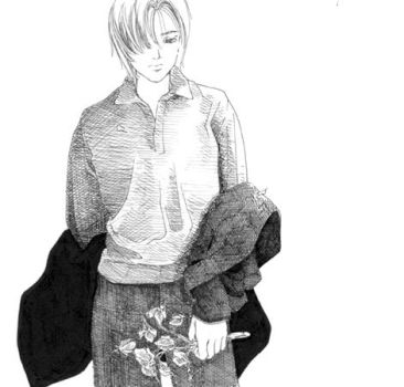 Remus at the funeral by lillithium