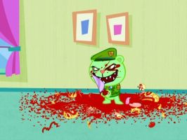 Flippy's house of BLOOD! by evilfliqpy