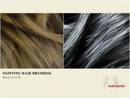 AR Brushes - Painting Hair by AngelinaResource