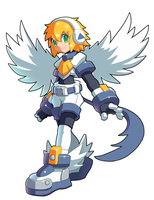 Roll [Legends] - (Fusion) - Absol [Without helmet] by V-a-a-N