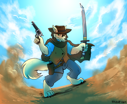 [Commission] The Fox with No Name by raizy