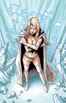 Emma Frost by MinkyuJungArt