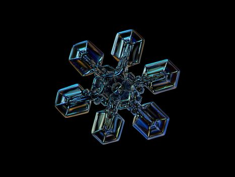 Snowflake photo: High voltage III by ChaoticMind75