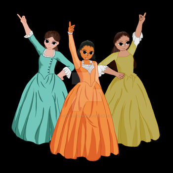 The Schuyler Sisters by Light-Leckrereins