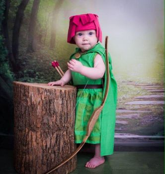 Clash of Clans - Baby Archer by Linksliltri4ce