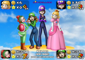 The C*ntrollers Play Mario Party by R2ninjaturtle