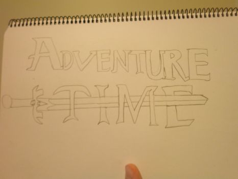 Adventure time logo by Damonater1234