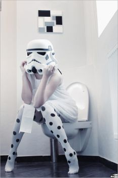 Stormtrooper Off Duty - I by 51ststate