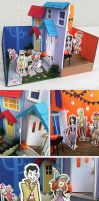 Merrel Diorama Contest - Trick or Treat by TRAVALE