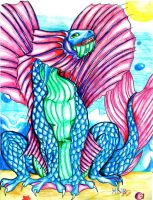 Zodiac Dragons: Pisces by MilkToothCuts