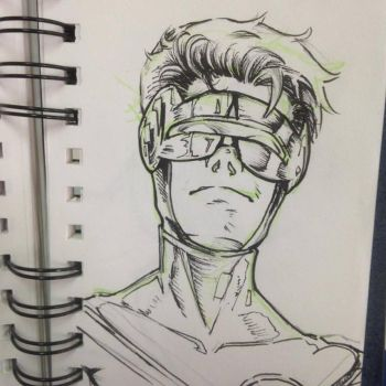 Scott summers cyclops no colors by grams2300