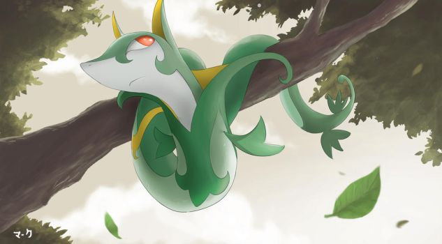 Pokemon: Serperior 2 by mark331