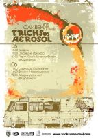 Aerosol VS Tricks - poster 2 by punkt11