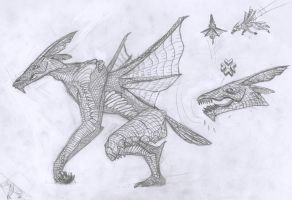 Monster H: 'Parialis' Concept by polikosaurio