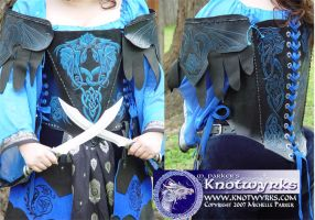 Dragon Rose outfit detail by MPFitzpatrick