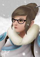 Overwatch - MEI Rendered by BenWilliamsArt