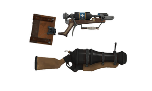 TF2 to MMD: Spellbook, Crossbow, and Cannon by Zoroark67