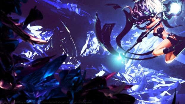 [LoL] Wallpaper - Tempest Janna - [redesign] by sHao-taisa