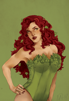 Poison Ivy   Pin Up by maayes