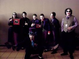 Meeting of the Jokers: Ohayocon '12 by JackSkelling10
