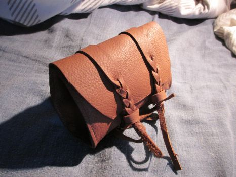 Leather Belt Pouch by HevadeWe