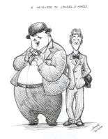 A tribute to Laurel and Hardy by Sandora
