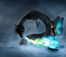 Request: Fairy and Dragon by NiKaZiNhA