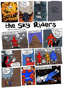 The Sky Riders, Page1 by JMP531