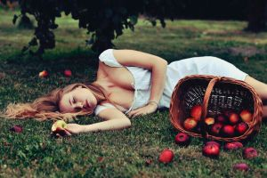 forbidden fruit tastes the sweetest by justina-m