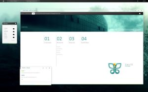 Gaia09.startpage by JustHumba