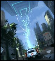 Ghostbusters by Hideyoshi