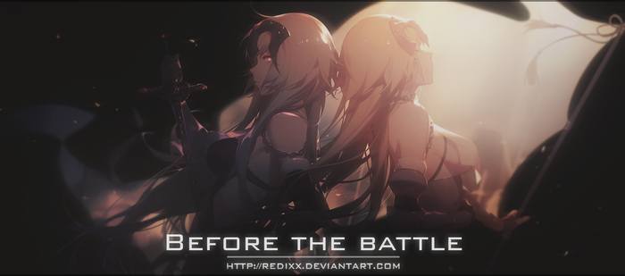Before the battle(Fate Series) by Redixx