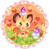+ COLLAB - MEOWTH AND LITWICK +