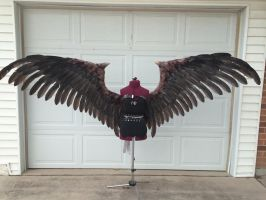 Maleficent Wings by TheGriffinQueen