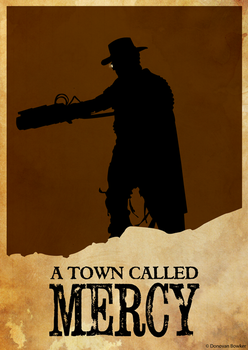 Doctor Who - a town called mercy poster by donobowk
