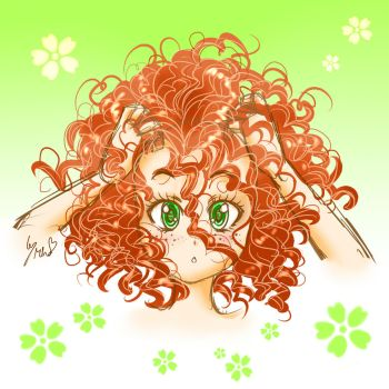 CURLS by mino-the-cat