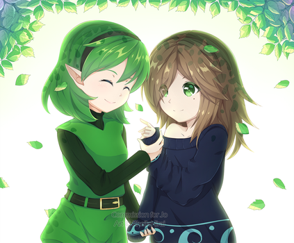 Commission   Levy and Saria by KheilaHirai