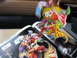 Paper Child Chibi Kefka by Yuffie1972