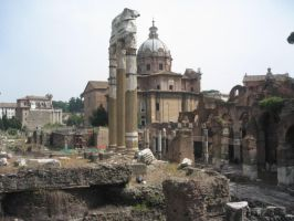 Ruins of Rome by SAPOMstockxtras